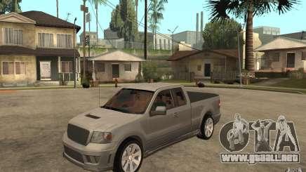 Saleen S331 Super Cab para GTA San Andreas