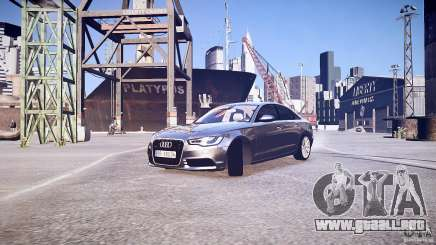 Audi A6 v1.0 para GTA 4