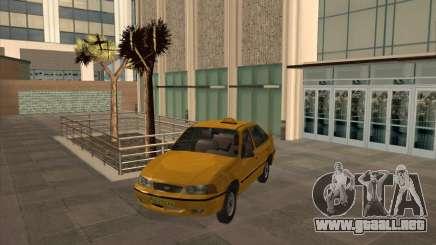 Daewoo Nexia Taxi para GTA San Andreas