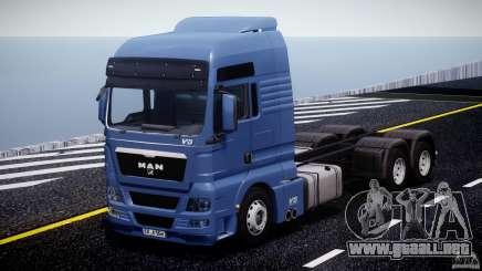 MAN TGX V8 6X4 para GTA 4