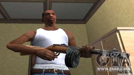 PPSH-41 para GTA San Andreas