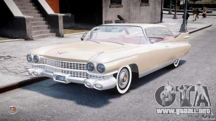 Cadillac Eldorado 1959 (Lowered) para GTA 4