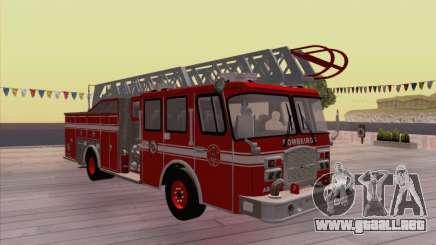 Camiao Dos Bombeiros ABE CBMESP para GTA San Andreas