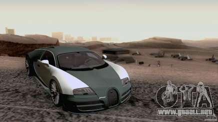 Bugatti ExtremeVeyron para GTA San Andreas
