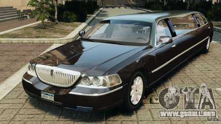 Lincoln Town Car Limousine 2006 para GTA 4