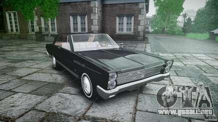 Ford Mercury Comet Caliente Sedan 1965 para GTA 4