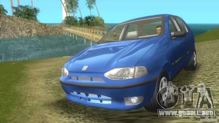 Fiat Palio de color turquesa para GTA Vice City