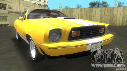 Ford Mustang Cobra 1976 para GTA Vice City
