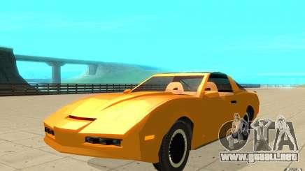 Pontiac Firebird 1989 K.I.T.T. para GTA San Andreas