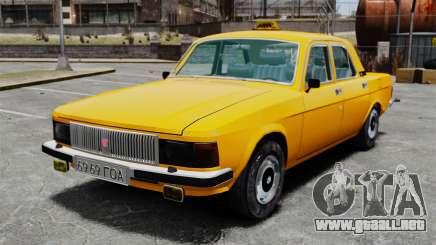 Taxi Gaz-3102 para GTA 4