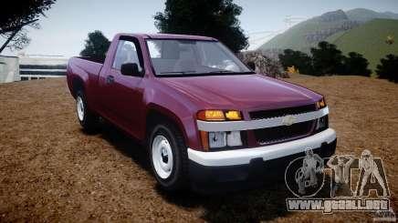 Chevrolet Colorado 2005 para GTA 4