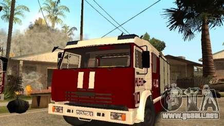 KAMAZ 43253 Rozenbauer para GTA San Andreas