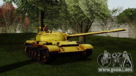 Type 59 GOLD Skin para GTA San Andreas