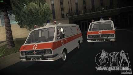 RAF 22031 ambulancia para GTA San Andreas