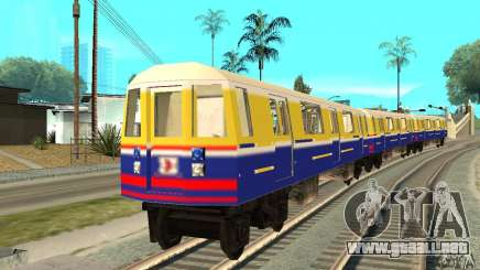 Liberty City Train Italian para GTA San Andreas