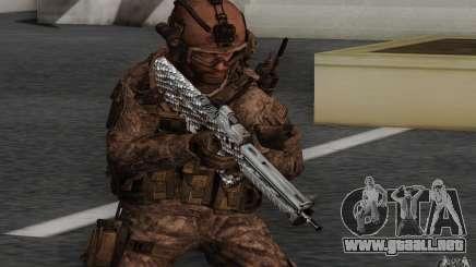 Tavor Tar-21 Carbon para GTA San Andreas