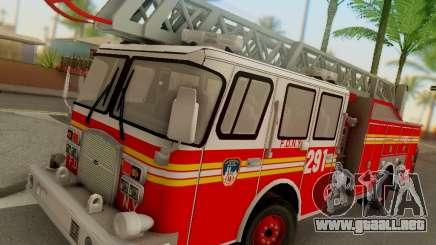 E-One FDNY Ladder 291 para GTA San Andreas