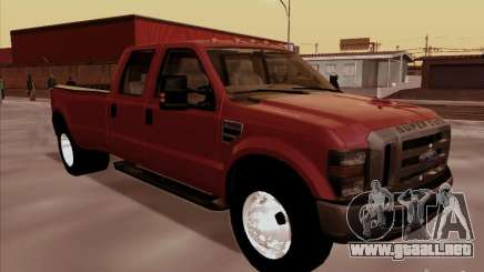 Ford  F350 Super Duty para GTA San Andreas