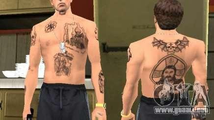 Blatnye tatuajes para GTA San Andreas