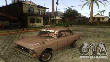 IZH 412 Moskvich para GTA San Andreas