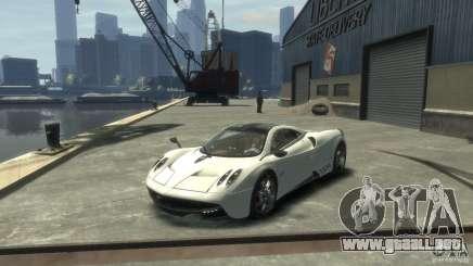 Pagani Huayra para GTA 4