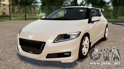 Honda Mugen CR-Z v1.1 para GTA 4