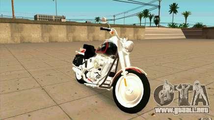 Harley Davidson FatBoy (Terminator 2) para GTA San Andreas
