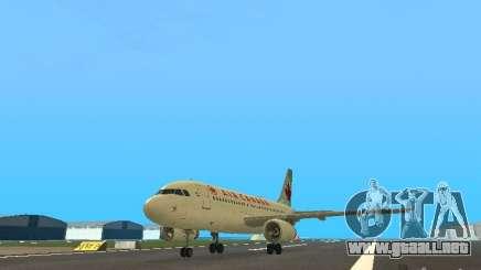 Airbus A319 Air Canada para GTA San Andreas