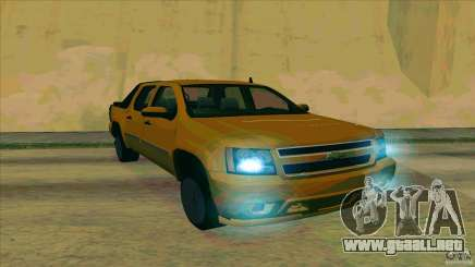 Chevrolet Avalanche 2011 para GTA San Andreas