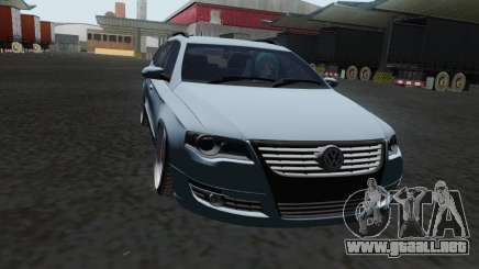 Volkswagen Passat B6 Variant Stance 2007 para GTA San Andreas