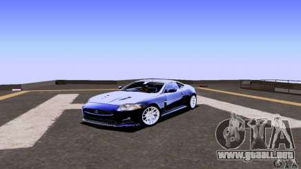 Jaguar XKRS turquesa para GTA San Andreas