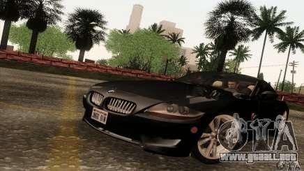 BMW Z4M de grey para GTA San Andreas