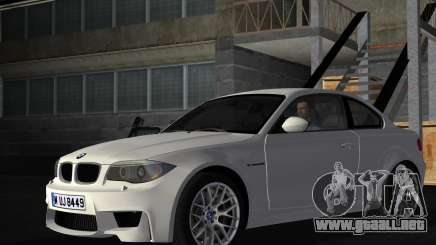 BMW 1M Coupe RHD para GTA Vice City