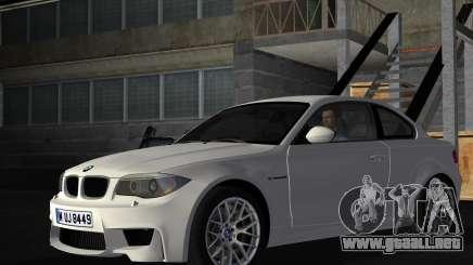 BMW 1M Coupe RHD para GTA Vice City