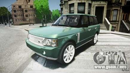 Range Rover Supercharged v1.0 para GTA 4