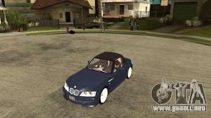 BMW Z3 Roadster para GTA San Andreas
