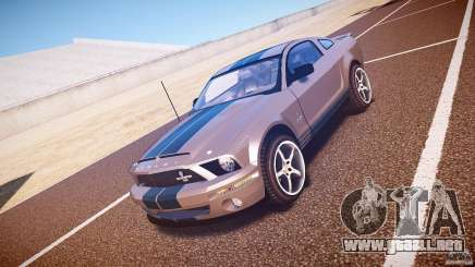 Shelby GT500kr silver para GTA 4