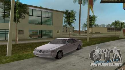 Mercedes-Benz 600SEC (C140) 1992 para GTA Vice City