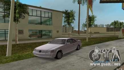 Mercedes-Benz 600SEC (C140) 1992 para GTA Vice City