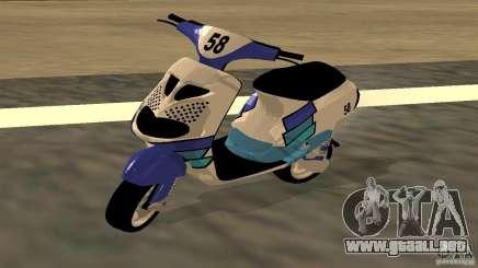 Piaggio Zip Polini Cup para GTA San Andreas