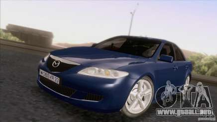Mazda 6 2006 para GTA San Andreas