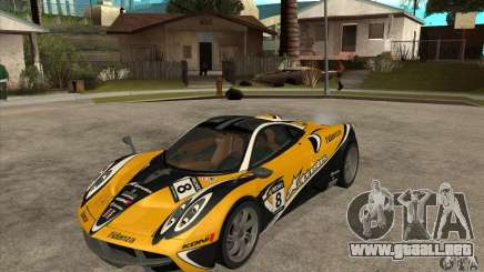Pagani Huayra ver. 1.1 para GTA San Andreas