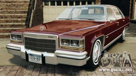 Cadillac Fleetwood Brougham Delegance 1986 para GTA 4