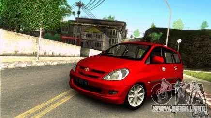 Toyota Kijang Innova 2.0 G para GTA San Andreas