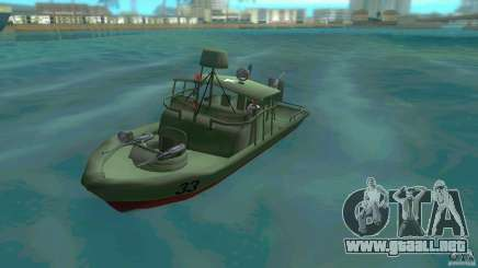 Río bote patrulla Mark 2 (Player_At_Wheel) para GTA Vice City