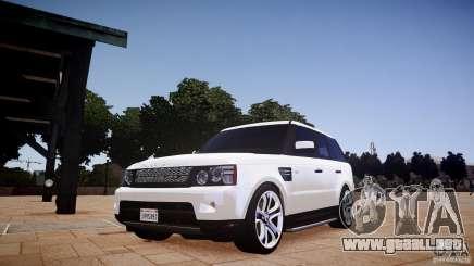 Range Rover Sport Supercharged v1.0 2010 para GTA 4