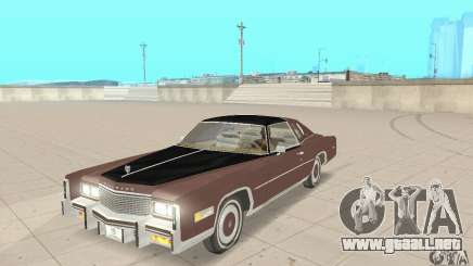 Cadillac Eldorado Biarritz 1978 para GTA San Andreas