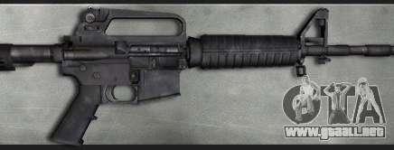Colt M4A1 Commando Silenced para GTA San Andreas