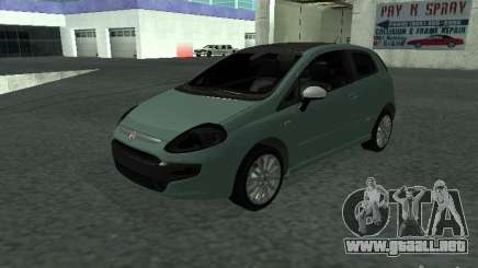 Fiat Punto EVO SPORT 2010 para GTA San Andreas