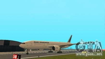 Boeing 777-200 Air France para GTA San Andreas